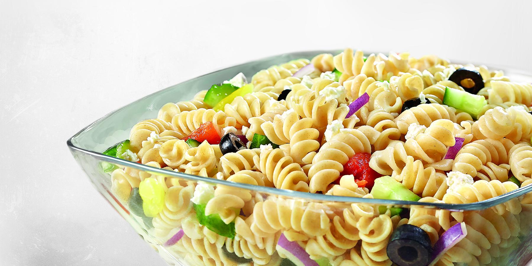 Anthony's Greek Pasta Salad with Rotini