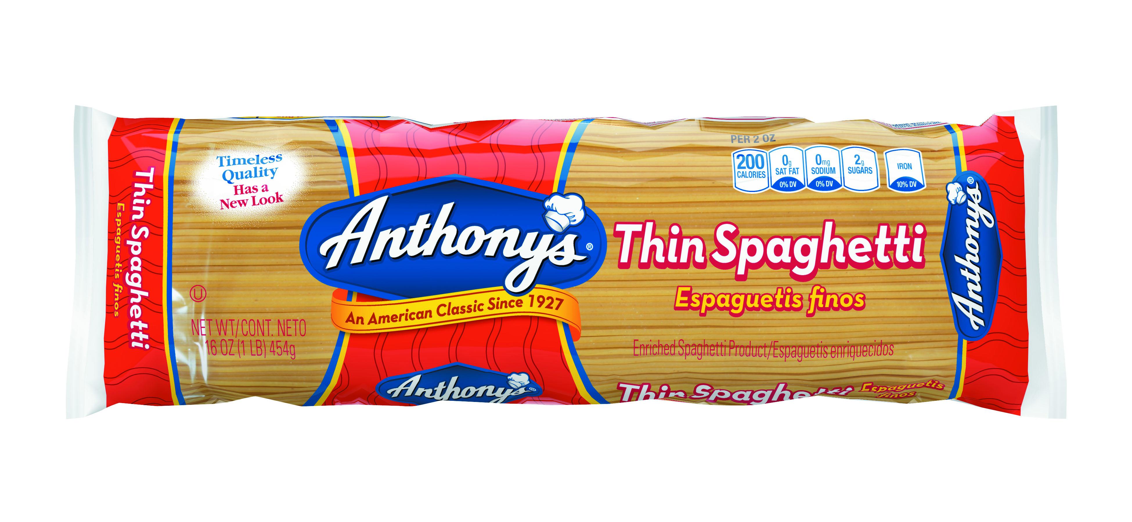 16oz-Small-Spaghetti 100% Semolina