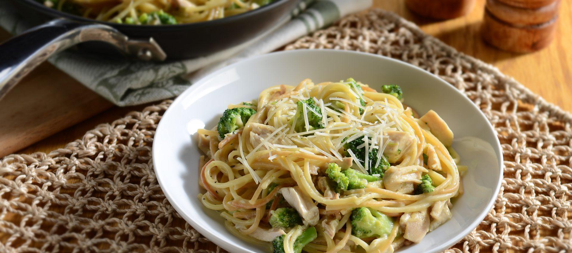Cheesy-Rotisserie-Chicken-Skillet-Spaghetti-1-HR-1920x850 Cheesy Chicken Skillet Spaghetti