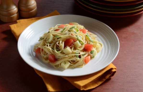 Angel-Hair-Caprese-1-LR-596x384 Recipes