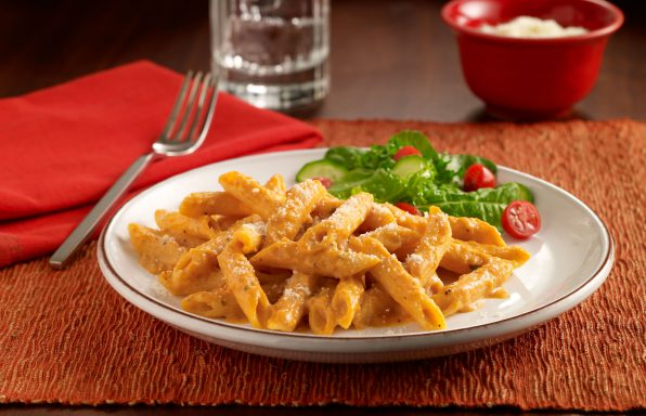 Guilt-Free-Creamy-Pumpkin-Pasta-596x384 Recipes