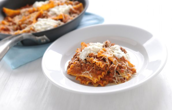 Italian-Skillet-Lasagna-596x384 Recipes