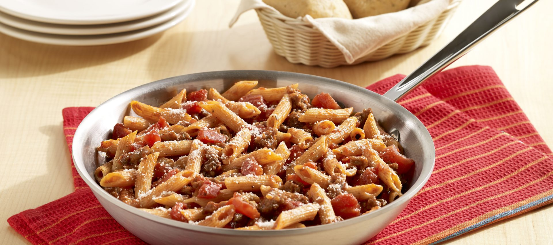 One-Skillet-Italian-Sausage-Pasta-1920x850 One-Skillet Penne with Italian Sausage