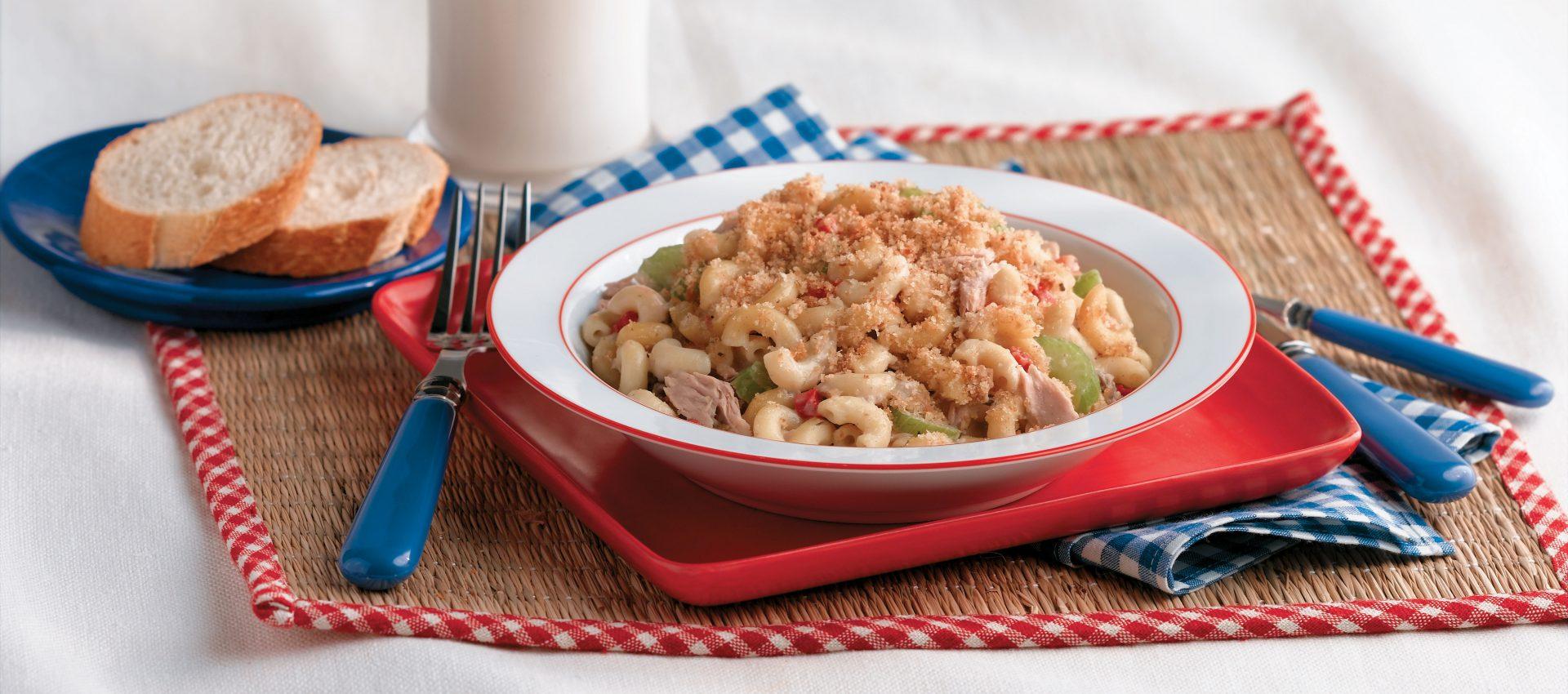 Tuna_AmerPasta-1920x850 Classic Picnic Macaroni Salad
