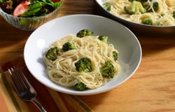 parmesan-broccoli-and-angel-hair-skillet Recipes