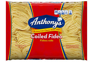 Anthonys-Coiled-Fideo_New-NFP 100% Semolina Coiled Fideo