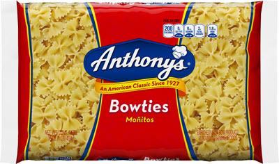 100-Bow-Ties-400 100% Semolina Bowties