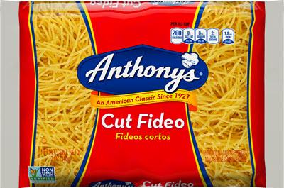 100-Cut-Fideo-400 100% Semolina Cut Fideo