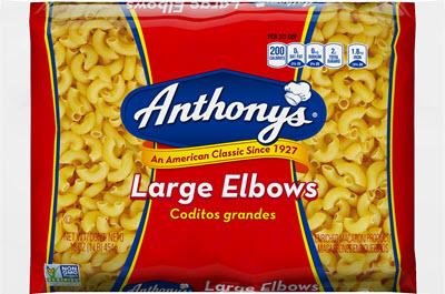 100-Lg-Elbows-400 100% Semolina Large Elbows