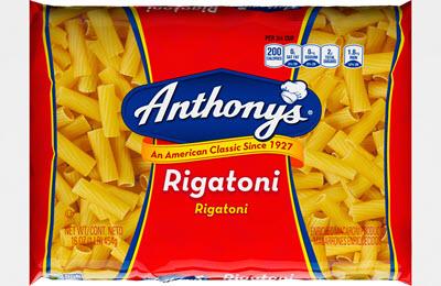 100-Rigatoni-400 100% Semolina Rigatoni