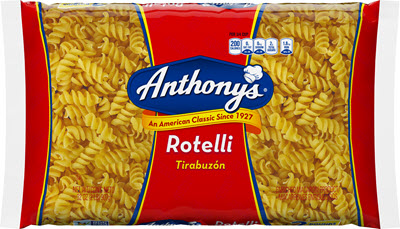 100-Rotelli-400 100% Semolina Rotelli